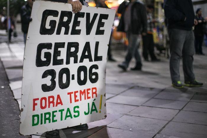 greve geral