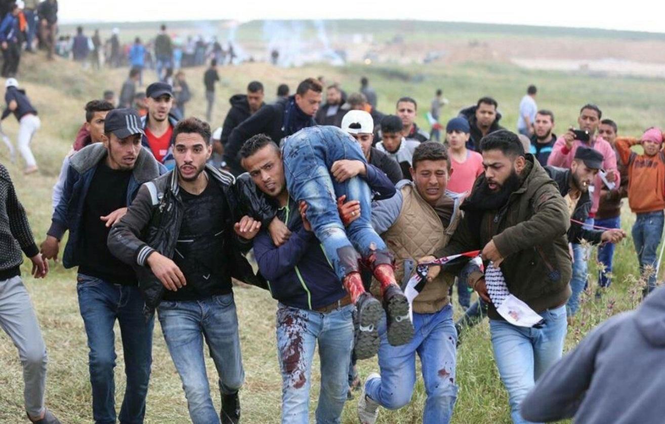 Resultado de imagem para palestinos assassinados